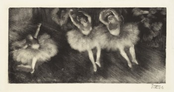 Edgar Degas.Three Ballet Dancers, c. 1878-80