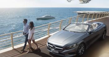 "To υπερπολυτελές motor yacht ""Arrow460–Granturismo"", το λανσάρισμα του οποίου συνοδεύτηκε από την νέα Mercedes-Benz S-Class Cabriolet και το πολυτελές ελικόπτερο ""H145 Mercedes Benz Style"" της Airbus Helicopters."