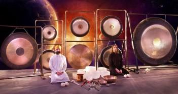 Alexandros Surya Deva and Leonidas Tzoras Gong Spirit Yoga Masters
