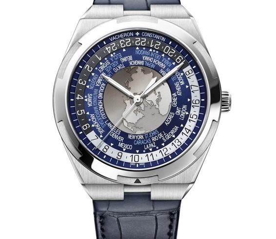 World Time Overseas  7700V-110A-B172 Bracelet cuir