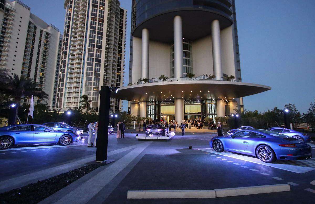 Porsche Design Tower >> Grand Opening Of First Of Its Kind Porsche Design Tower