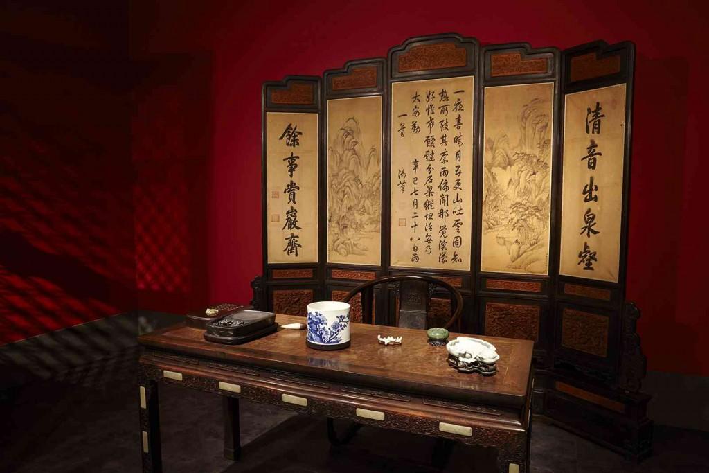Το δωμάτιο μελέτης του Qianlong στο Παλάτι του Πολλαπλού Μεγαλείου