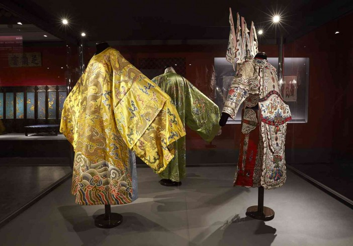Theatrical costumes from the private performances that were organized at the Palace of Many Splendors  Qing Dynasty, Qianlong Reign (1735 – 1796)
