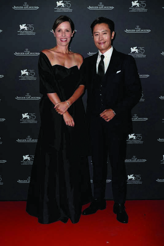 Catherine Renier CEO Jaeger-LeCoultre, Lee Byung Hun